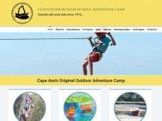 Website Design for GMS Camp
